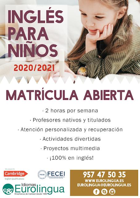 eurolingua córdoba, clases de inglés, cursos de inglés, academia idiomas córdoba
